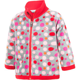 Color Kids Tugo Mini 2 Face Fleece Jacke Kinder racing red
